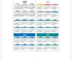 Карманный календарь 2022