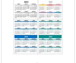 Карманный календарь 2023